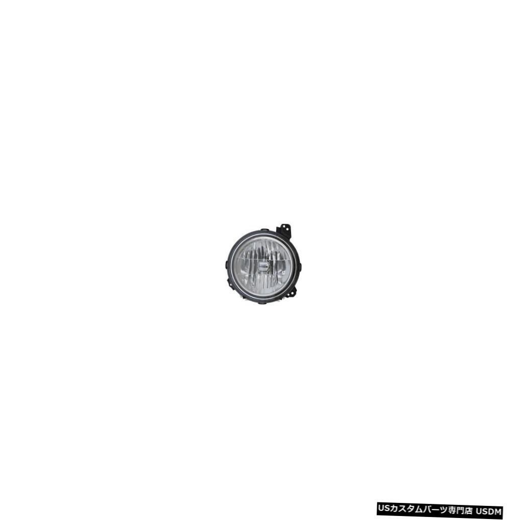 ヘッドライト 2018-2019 Jeep Wrangler Halogen Headlight Front Lamp Left Driver Side 2018-2019 Jeep Wrangler Halogen Headlight Front Lamp Left Driver Side