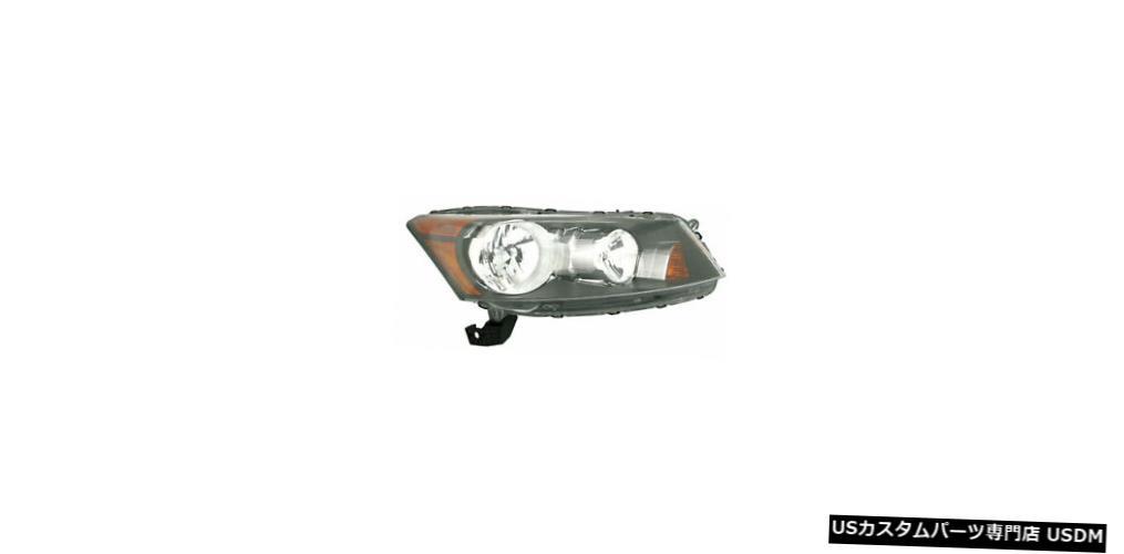 ヘッドライト 08-11ホンダアコードヘッドライトアセンブリ助手席側 08-11 Honda Accord Headlight Assembly Passenger Side