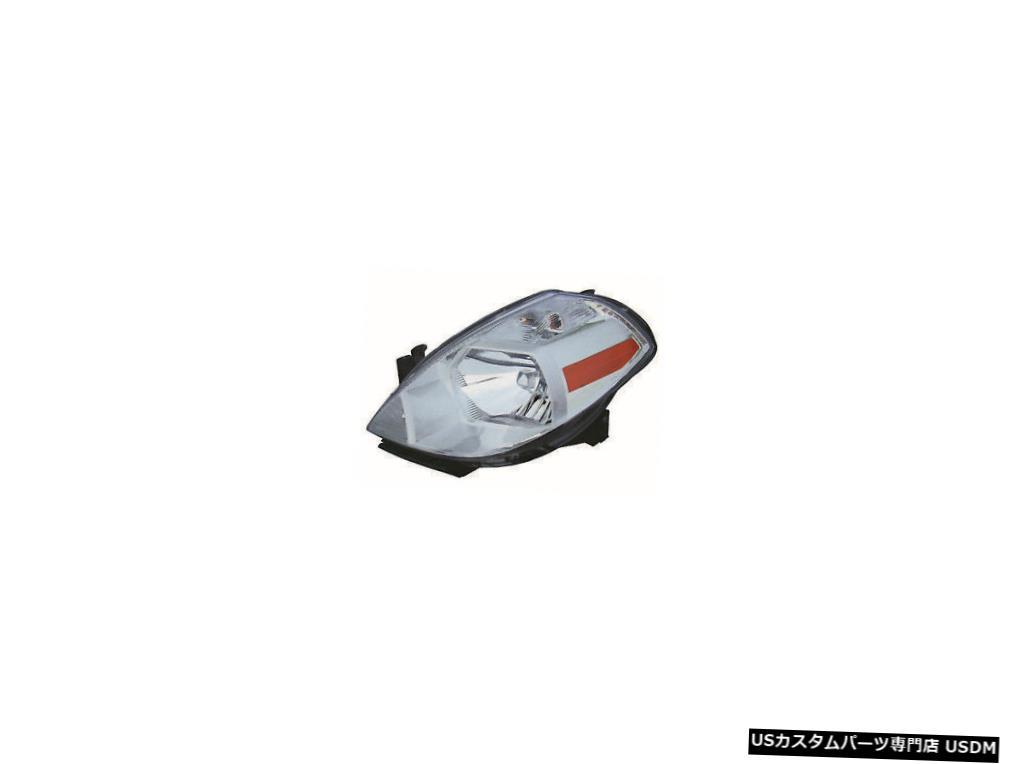 ヘッドライト 2007-2010日産Versaセダン/ハッチバックに適合 kドライバー左ヘッドライトランプ Fits 2007-2010 Nissan Versa Sedan/Hatchback Driver Left Headlight Lamp