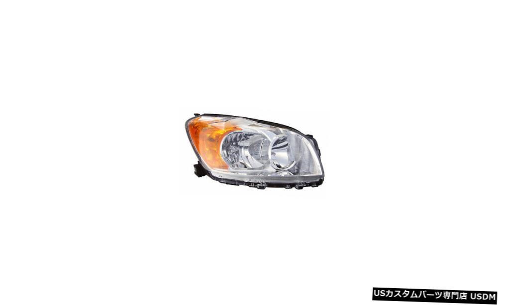 ヘッドライト 2009-2012トヨタRAV4ベース/限定乗客右側ヘッドライトランプアセンブリ 2009-2012 Toyota RAV4 Base/Limited Passenger Right Side Headlight Lamp Assembly
