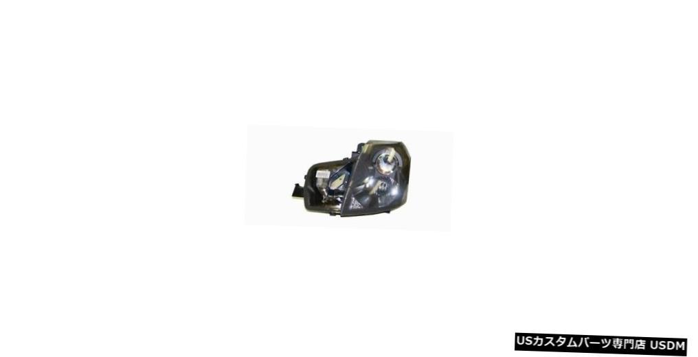 ヘッドライト 03-07キャデラックCTS(レベリングなしのHIDなし)ドライバーヘッドライト 03-07 Cadillac CTS (w/o HID w/o Leveling) Driver Headlight