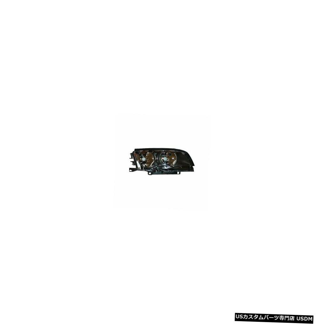 ヘッドライト 99-01 BMW 3シリーズE46クーペハロゲンヘッドライトアセンブリの助手席側 99-01 BMW 3 Series E46 Coupe Halogen Headlight Assembly Passenger Side