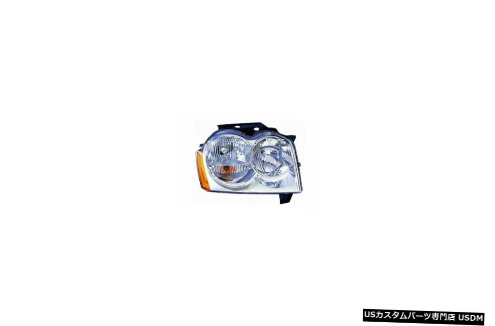 ヘッドライト 05-07ジープグランドチェロキー右助手席ヘッドライトヘッドランプNSF 05-07 Jeep Grand Cherokee Right Passenger Headlight Headlamp NSF