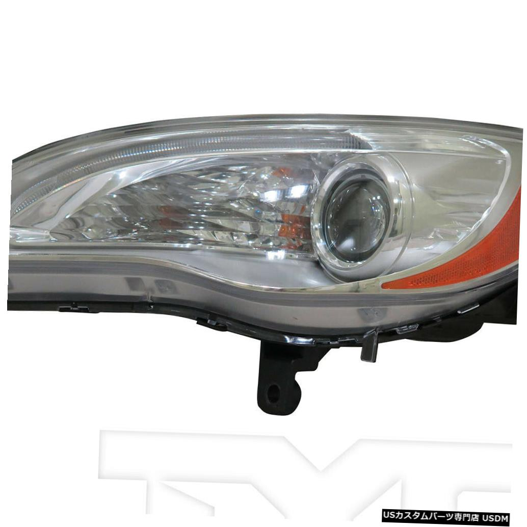ヘッドライト 11-14クライスラー200セダン/コンバーチ ble LX / LMTD /ツーリン gドライバーヘッドライトCAPA 11-14 Chrysler 200 Sedan/Convertible LX/LMTD/Touring Driver Headlight CAPA