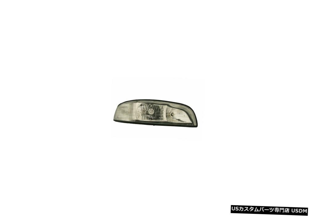 ヘッドライト 97-99ビュイックルセイバーヘッドライトコーナーランプアセンブリ助手席側 97-99 Buick Le Sabre Headlight w/ Corner Lamp Assembly Passenger Side