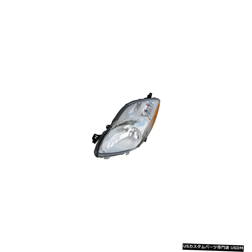 ヘッドライト 2009-2011トヨタヤリスハッチバックドライバー左側ヘッドライトランプアセンブリ 2009-2011 Toyota Yaris Hatchback Driver Left Side Headlight Lamp Assembly