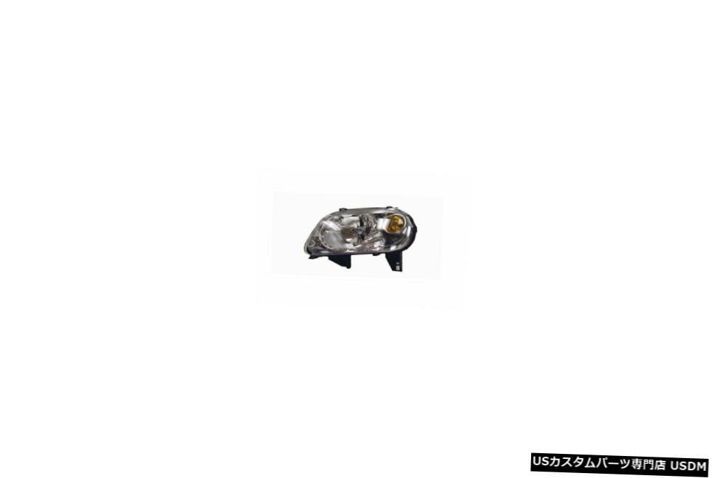 ヘッドライト 06-11シボレーHHR(RPO-B2Eなし)ドライバーヘッドライト 06-11 Chevrolet HHR (w/o RPO-B2E) Driver Headlight