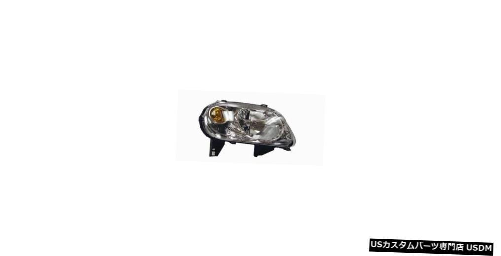 ヘッドライト 06-11シボレーHHR(RPO-B2Eなし)助手席ヘッドライト 06-11 Chevrolet HHR (w/o RPO-B2E) Passenger Headlight