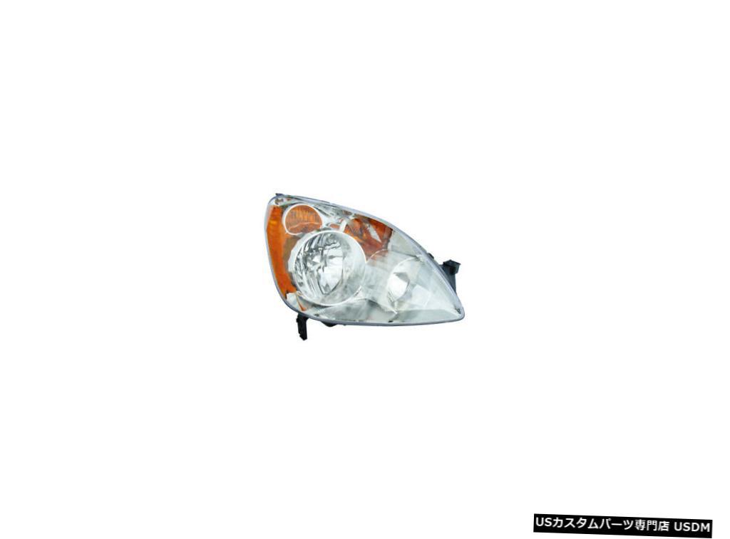 ヘッドライト 2005- 2006年ホンダCRV CR-V日本は乗客右ヘッドライトランプアセンブリを構築 2005-2006 Honda CRV CR-V Japan Built Passenger Right Headlight Lamp Assembly