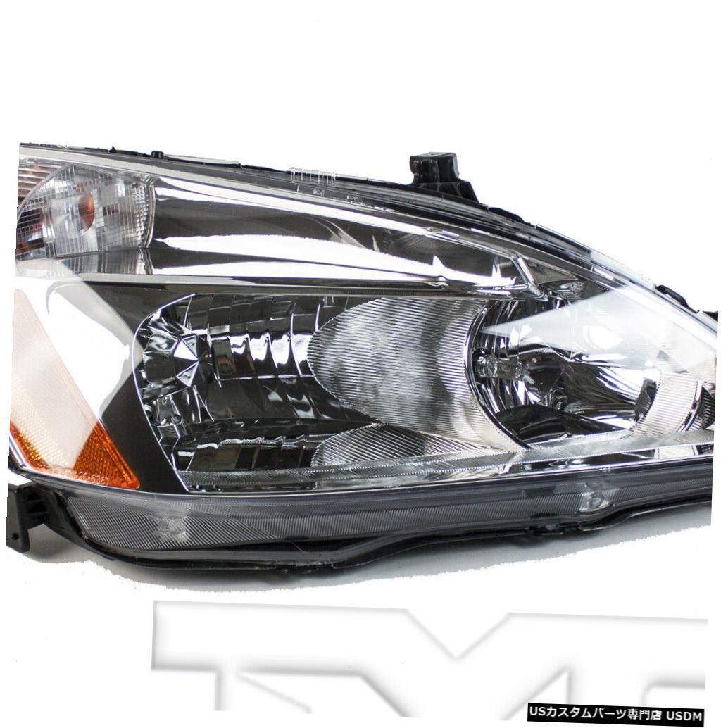 ヘッドライト 03-07ホンダアコード右助手席ヘッドライトヘッドランプNSF 03-07 Honda Accord Right Passenger Headlight Headlamp NSF