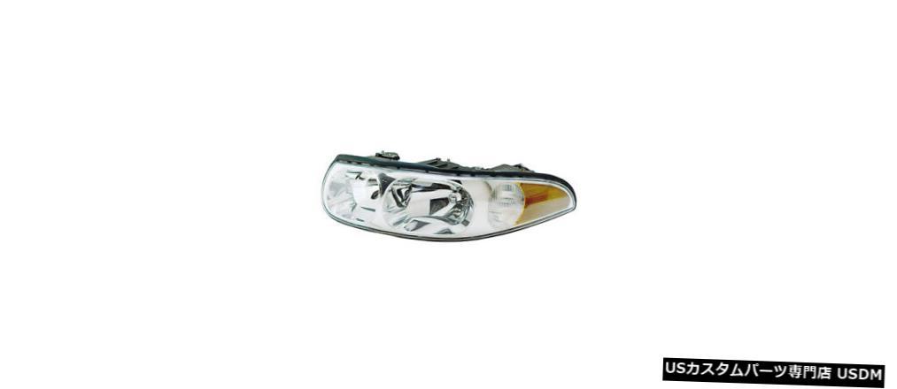 ヘッドライト 2000ビュイックレザーブルドライバー左ヘッドライトランプアセンブリ/滑らかなハイビーム 2000 Buick Le Sabre Driver Left Headlight Lamp Assembly w/Smooth High Beam