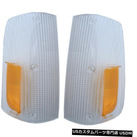 Turn Signal Lamp VOLVO 240260 1975-1985フロントターンシグナルランプライトレンズペア VOLVO 240 260 1975-1985 FRONT TURN SIGNAL LAMP LIGHT LENS pair