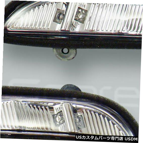 Turn Signal Lamp ドアミラーターンシグナルランプライトペアフィット2007-2009 MB SクラスW221 Door Mirror Turn Signal Lamps Lights PAIR fits 2007-2009 MB S-class W221