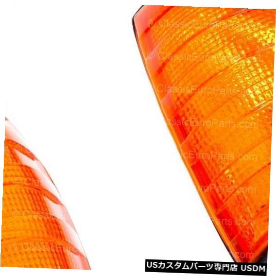 Turn Signal Lamp メルセデスベンツw123 AMGライトウインカーランプのユーロアンバーターンシグナルインジケーター Euro Amber Turn Signal indicator for Mercedes Benz w123 AMG light blinker lamp