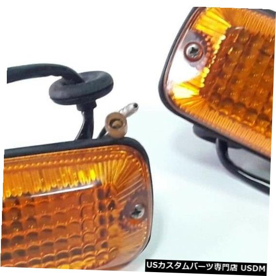 Turn Signal Lamp 三菱ランサーA72 A73ターンシグナルサイドランプ純正パーツNOS JAPAN xペア MITSUBISHI LANCER A72 A73 Turn Signal Side Lamp Geniune Parts NOS JAPAN x Pair