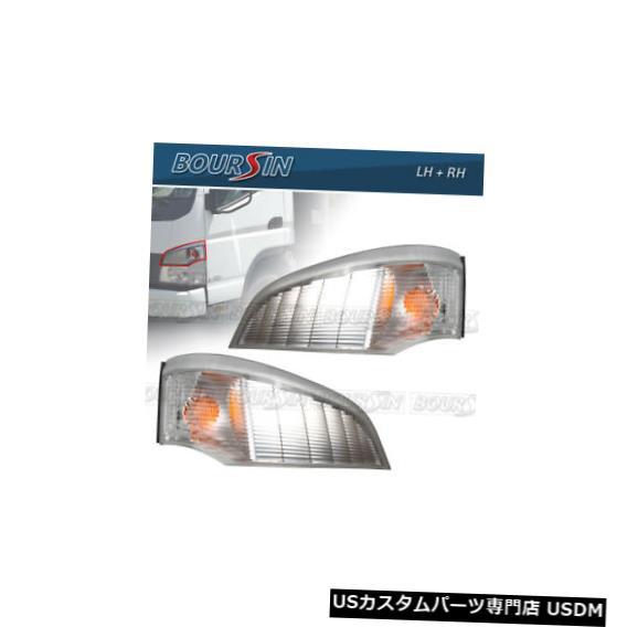 Turn Signal Lamp 三菱ふそうFE125 FE140 FE145 FE180 05-11 LH + RH、1ペア用ターンシグナルランプ Turn Signal Lamp For Mitsubishi Fuso FE125 FE140 FE145 FE180 05-11 LH+RH, 1 Pair