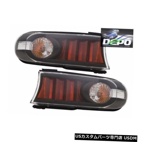 Turn Signal Lamp トヨタFJクルーザー2007 2008 2009ブラックパークターンシグナルライトランプブラックペア TOYOTA FJ CRUISER 2007 2008 2009 BLACK PARK TURN SIGNAL LIGHTS LAMPS BLACK PAIR