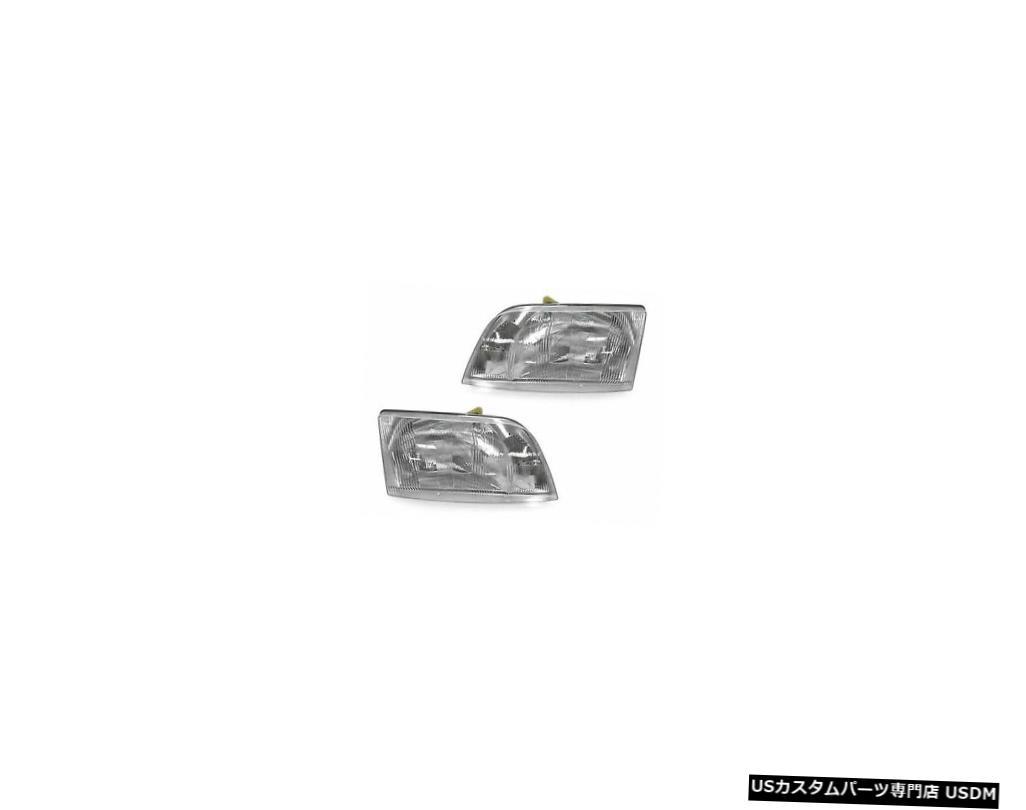 Headlight 1998-2011 VOLVO VNL VNMシリーズDaycabトラックヘッドライト8082041 8082040-SET 1998-2011 VOLVO VNL VNM Series Daycab Truck Headlight 8082041 8082040 - SET
