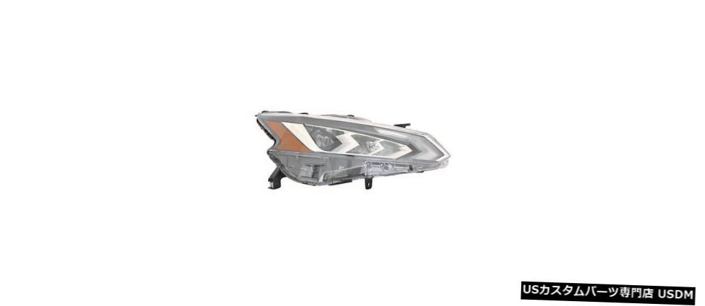 Headlight フィットNISSAN ALTIMA 2019右の乗客LEDヘッドライトヘッドライトランプ fit NISSAN ALTIMA 2019 RIGHT PASSENGER LED HEADLIGHT HEAD LIGHT LAMP