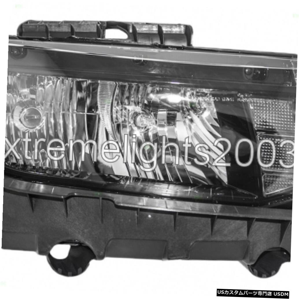 Headlight CHEVY CAMARO 2014-2015右の乗客のハロゲンヘッドライトヘッドランプライト CHEVY CAMARO 2014-2015 RIGHT PASSENGER HALOGEN HEADLIGHT HEAD LAMP LIGHT