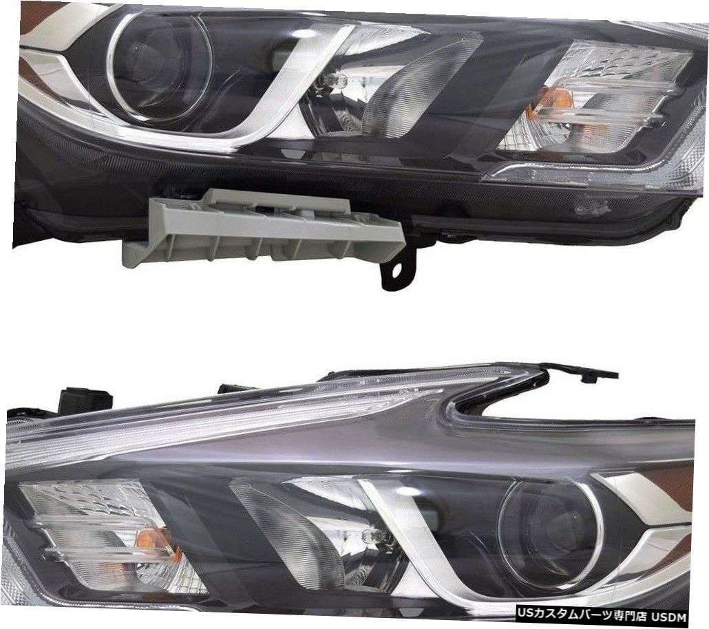 【高額売筋】 Headlight フィットNISSAN NISSAN MAXIMA フィットNISSAN 2016-2018左LEDヘッドライトヘッドフロントランプペア FITS NISSAN PAIR MAXIMA 2016-2018 LEFT RIGHT LED HEADLIGHTS HEAD FRONT LAMPS PAIR, 袖ヶ浦市:3b696f45 --- eurotour.com.py