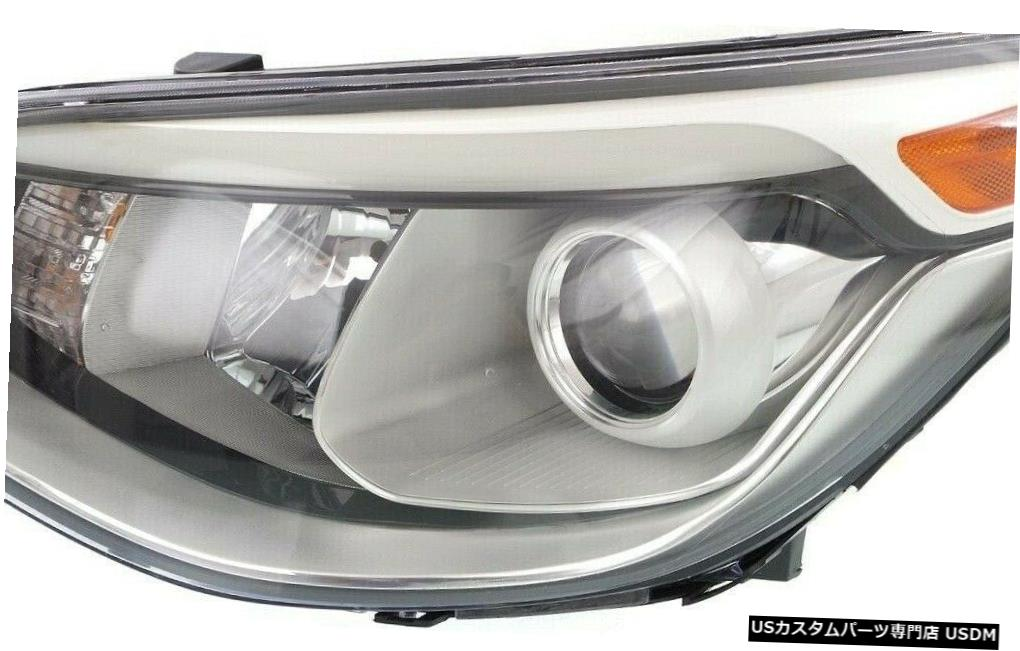 LAMP PROJECTOR HEADLIGHT LEFT SOUL HEAD Headlight HALOGEN SOUL HALOGEN LAMP LIGHTS LEFT PROJECTOR HEAD 2014-2016 LIGHTS HEADLIGHT DRIVER KIA DRIVER FITS 2014-2016 FITS KIA