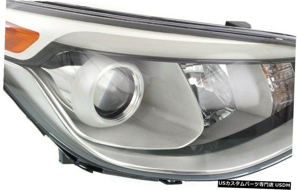 Headlight FITS KIA SOUL 2014-2016右ハロゲンプロジェクターヘッドライトヘッドライトランプ FITS KIA SOUL 2014-2016 RIGHT HALOGEN PROJECTOR HEADLIGHT HEAD LIGHTS LAMP