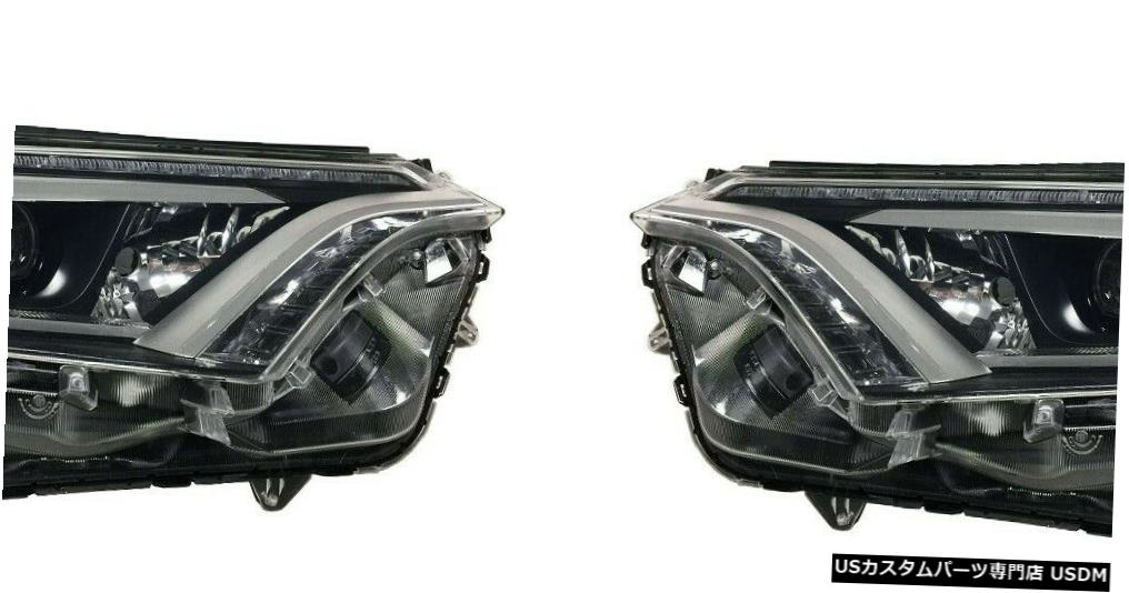 Headlight FIT TOYOTA RAV4 HYBRID 2016-2018 RIGHT LEFT LEDヘッドライトヘッドライトランプNEW FITS TOYOTA RAV4 HYBRID 2016-2018 RIGHT LEFT LED HEADLIGHTS HEAD LIGHTS LAMP NEW