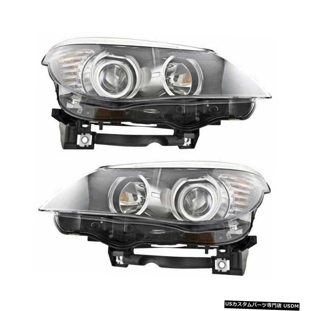 Headlight BMW 5シリーズE60 2008-2010右左ヘッドライトヘッドライトランプペアNEW BMW 5 SERIES E60 2008-2010 RIGHT LEFT HEADLIGHTS HEAD LIGHTS LAMPS PAIR NEW