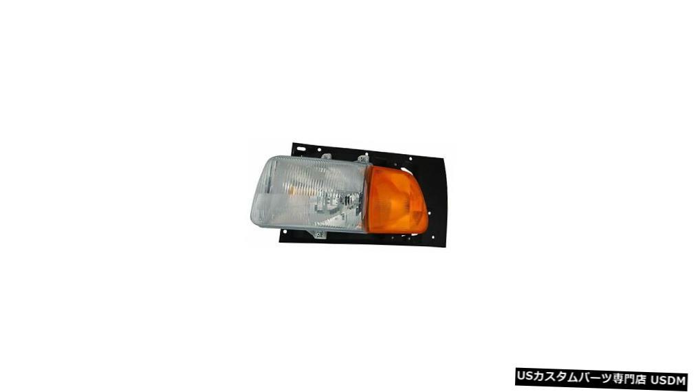 Headlight 9500でのスターリング9522 9513 1999 2000左ドライバーヘッドライトヘッドランプフロントライト STERLING AT 9500 9522 9513 1999 2000 LEFT DRIVER HEADLIGHT HEAD LAMP FRONT LIGHT