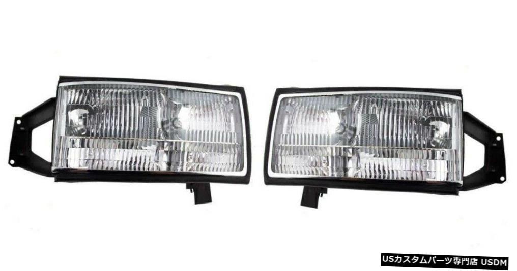 Headlight スパルタンアメリカンイーグル左右ペアフロントヘッドライトランプRVヘッドライト SPARTAN AMERICAN EAGLE LEFT RIGHT PAIR FRONT HEAD LIGHTS LAMPS RV HEADLIGHTS