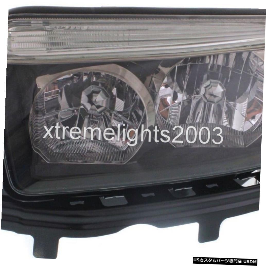 Headlight SUBARU FORESTER 2006-2008 LEFT DRIVERスポーツブラックヘッドライトヘッドランプフロント FITS SUBARU FORESTER 2006-2008 LEFT DRIVER SPORT BLACK HEADLIGHT HEAD LAMP FRONT