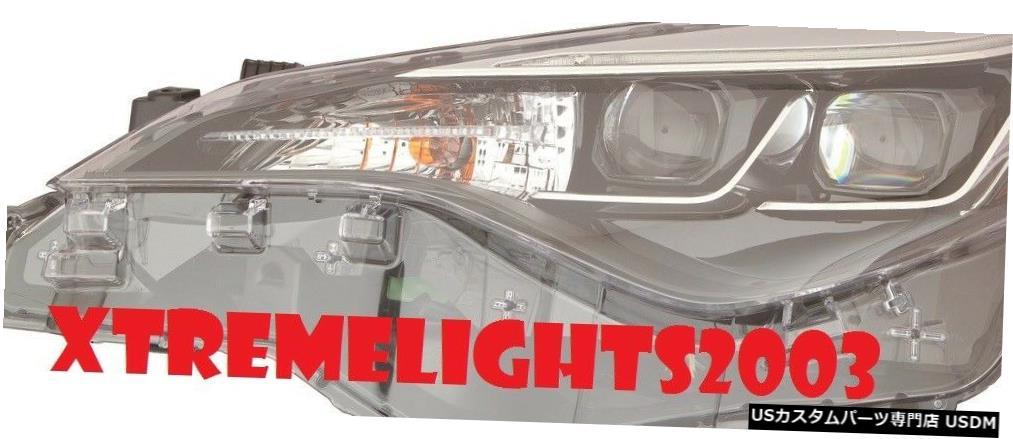 Headlight TOYOTA COROLLA 2017-2018 LEFT DRIVER SE XLE XSE LEDヘッドライトヘッドランプライト TOYOTA COROLLA 2017-2018 LEFT DRIVER SE XLE XSE LED HEADLIGHT HEAD LAMP LIGHT