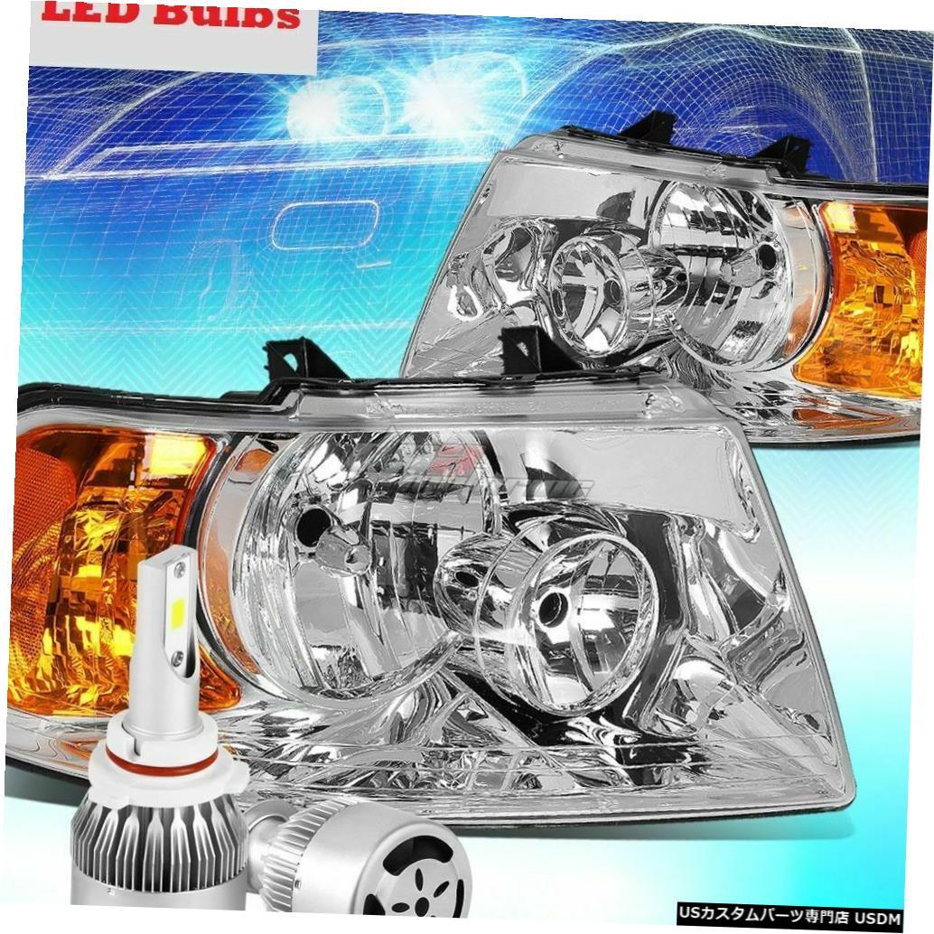 Headlight FLEETWOOD BOUNDER 2006 2007 2008ヘッドライトヘッドライトランプLEDバルブRV FLEETWOOD BOUNDER 2006 2007 2008 HEADLIGHTS HEAD LIGHTS LAMPS LED BULBS RV