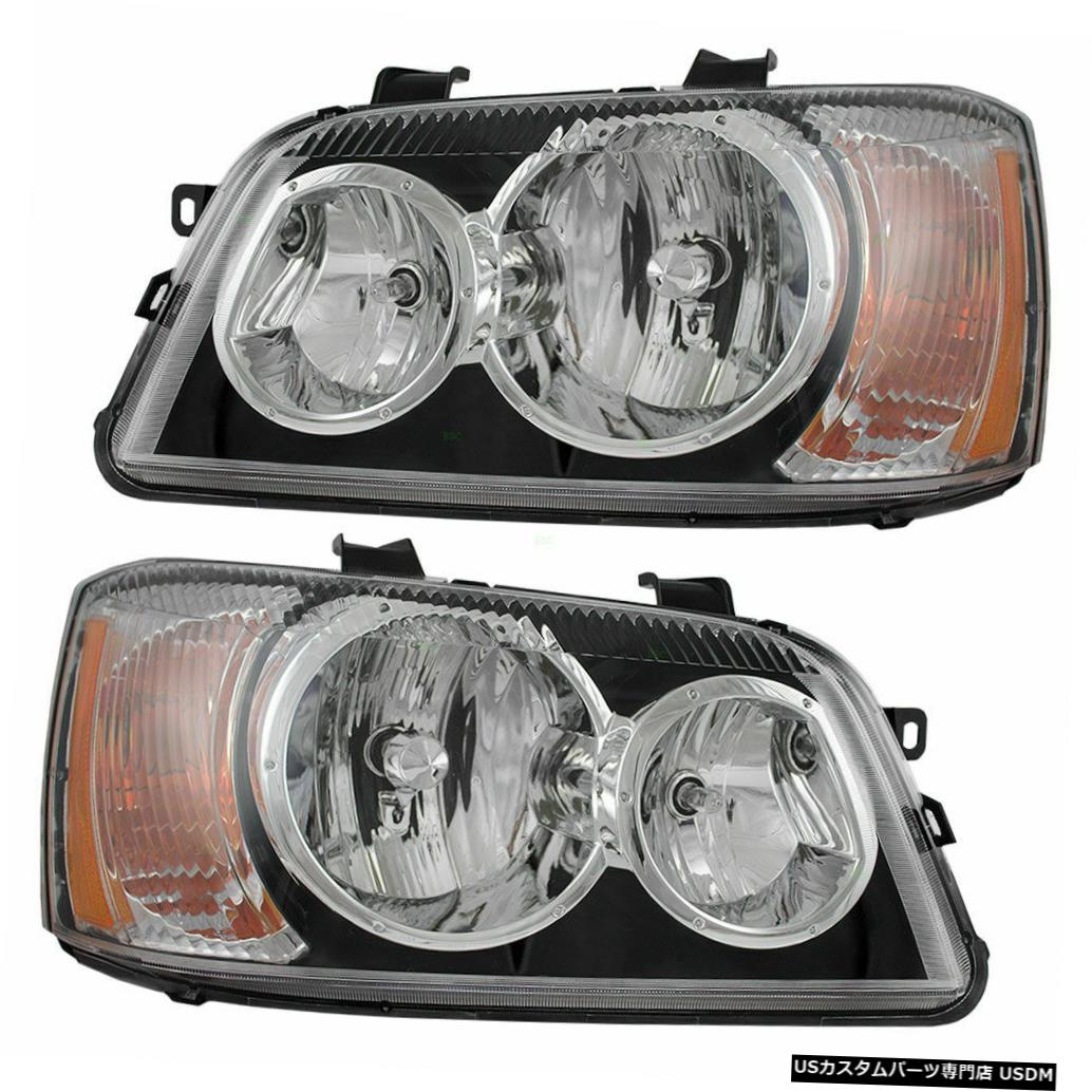 2006 ADVENTURER 2008 2008ペアヘッドライトヘッドライトフロントランプRV PAIR 2007 ADVENTURER LIGHTS FRONT RV LAMPS HEAD 2006 WINNEBAGO Headlight HEADLIGHTS 2007 WINNEBAGO