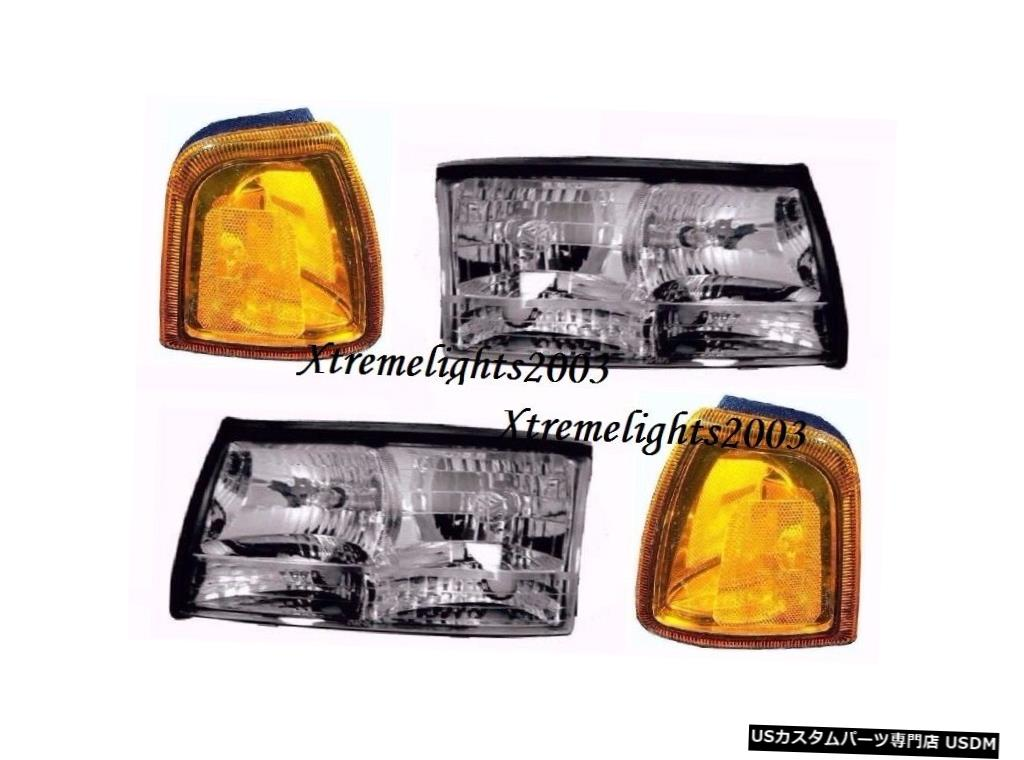 Headlight FLEETWOOD FLAIR 2006 2007 33RヘッドライトヘッドライトシグナルコーナーランプRV FLEETWOOD FLAIR 2006 2007 33R HEADLIGHTS HEAD LIGHTS SIGNAL CORNER LAMPS RV