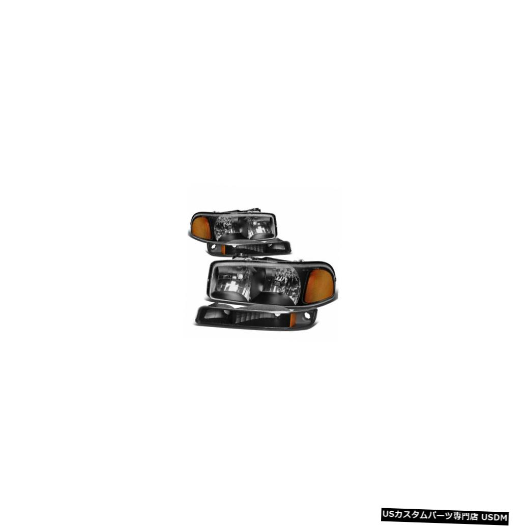Headlight TIFFIN ALLEGRO 2004 2005ブラックターンシグナルライトヘッドライトヘッドランプRV TIFFIN ALLEGRO 2004 2005 BLACK TURN SIGNAL LIGHTS HEADLIGHTS HEAD LAMPS RV