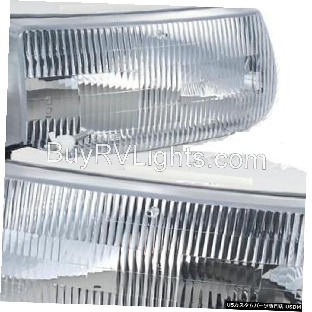 Headlight アルファファウンダー2005 2006 2007 2008ペアヘッドライトヘッドライトフロントランプRV ALFA FOUNDER 2005 2006 2007 2008 PAIR HEADLIGHTS HEAD LIGHTS FRONT LAMP RV