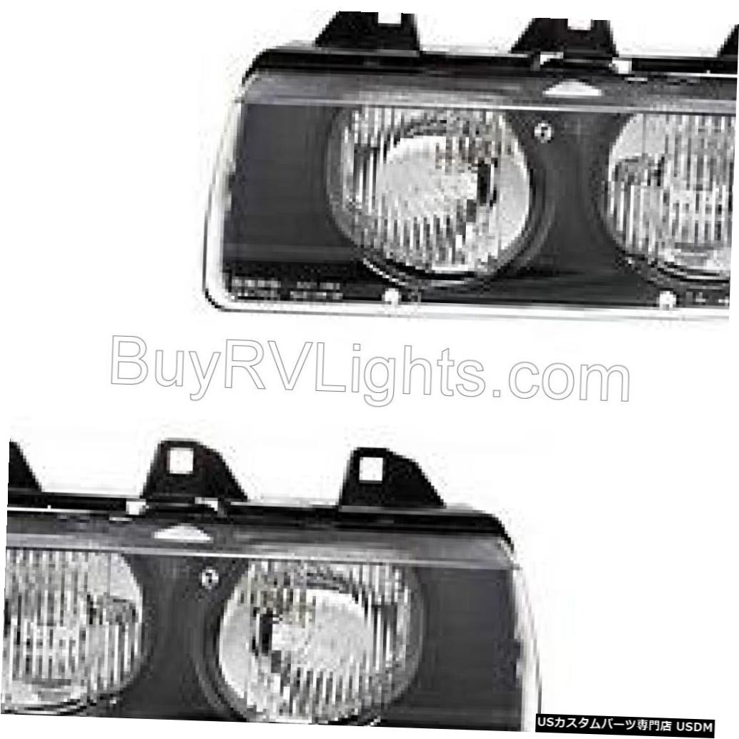 Headlight FLEETWOOD BOUNDER 2003-2005ペアフロントヘッドライトランプヘッドライトRVモーターホーム FLEETWOOD BOUNDER 2003-2005 PAIR FRONT HEAD LIGHT LAMP HEADLIGHT RV MOTORHOME
