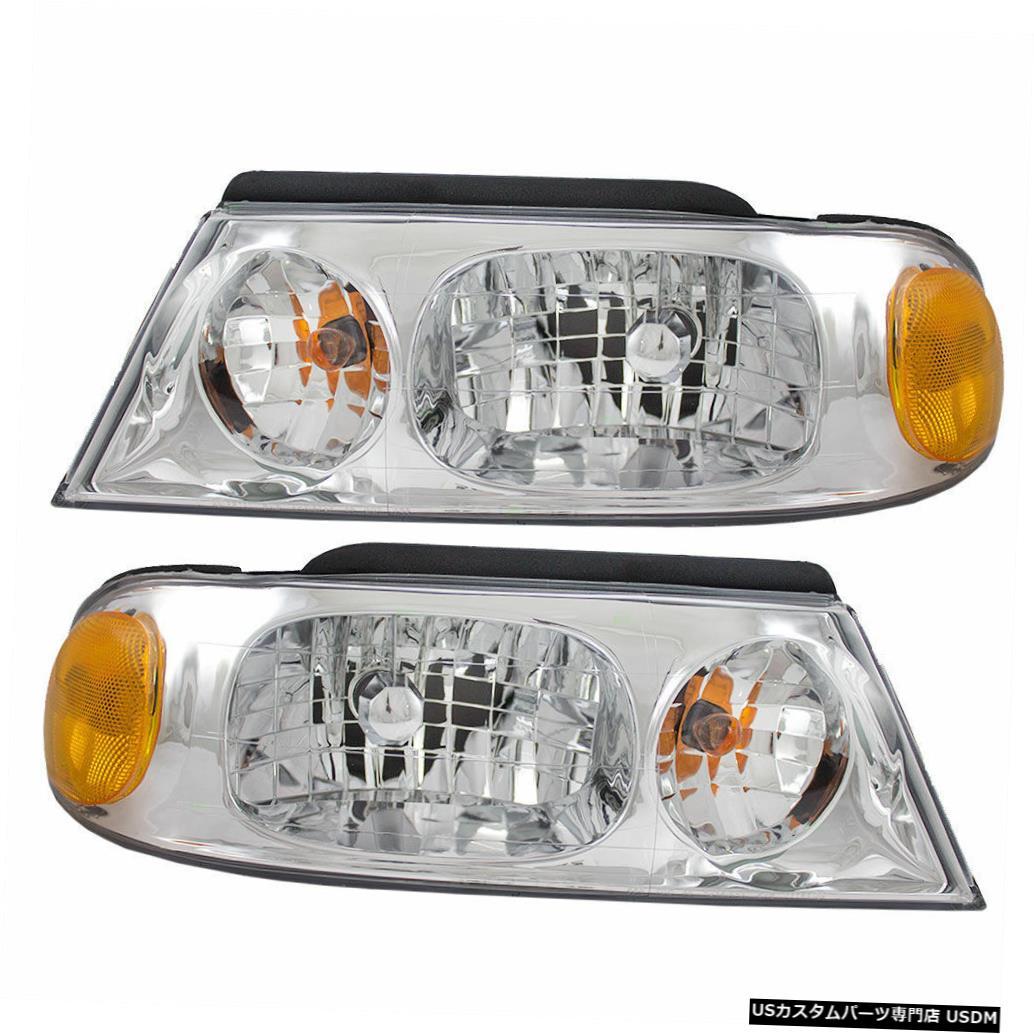 Headlight カントリーコーチアリュール2005 2006 2007-2009ペアヘッドライトヘッドランプフロントライトRV COUNTRY COACH ALLURE 2005 2006 2007-2009 PAIR HEADLIGHT HEAD LAMP FRONT LIGHT RV