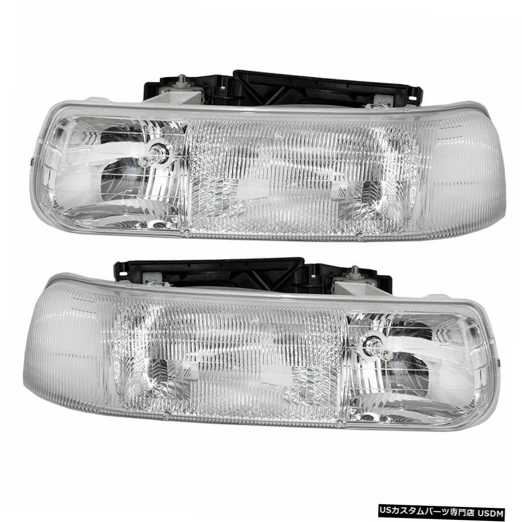 Headlight NATIONAL TROPICAL 2003 2004 2005ペアセットヘッドライトヘッドライトフロントランプRV NATIONAL TROPICAL 2003 2004 2005 PAIR SET HEADLIGHTS HEAD LIGHTS FRONT LAMPS RV