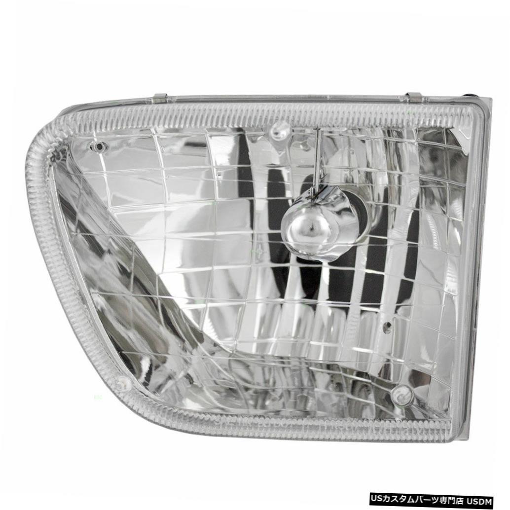 Headlight 4風ハリケーン2000 2001 2003左ドライバーヘッドライトヘッドライトランプRV FOUR WINDS HURRICANE 2000 2001 2003 LEFT DRIVER HEADLIGHT HEAD LIGHT LAMP RV