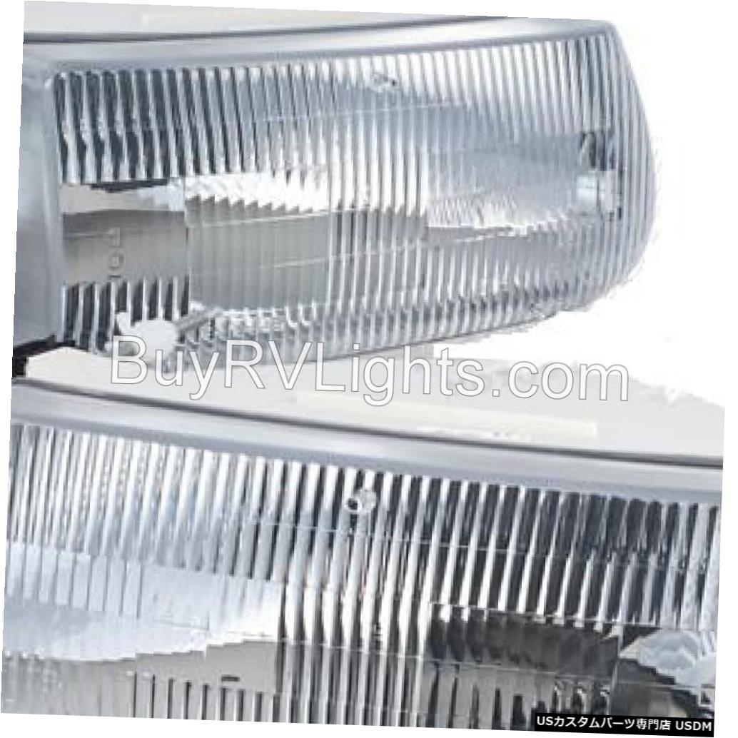 Headlight ALFA SEE YA GOLD 2004 2005 2006ペアヘッドライトヘッドライトフロントランプRV ALFA SEE YA GOLD 2004 2005 2006 PAIR HEADLIGHTS HEAD LIGHTS FRONT LAMP RV