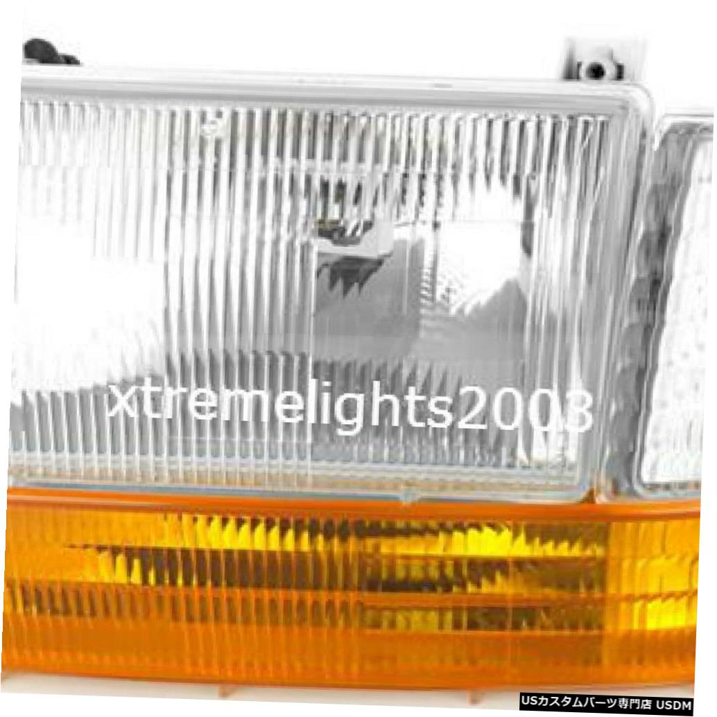 REXHALL 1998 DRIVER HEADLIGHT SET LAMP LAMP LEFT 3PC 1999 LIGHT RV 1998 HEAD 3PC HEAD AERBUS DRIVER HEADLIGHT 1999 SET SIGNAL RV LIGHT SIGNAL Headlight LEFT AERBUS REXHALL