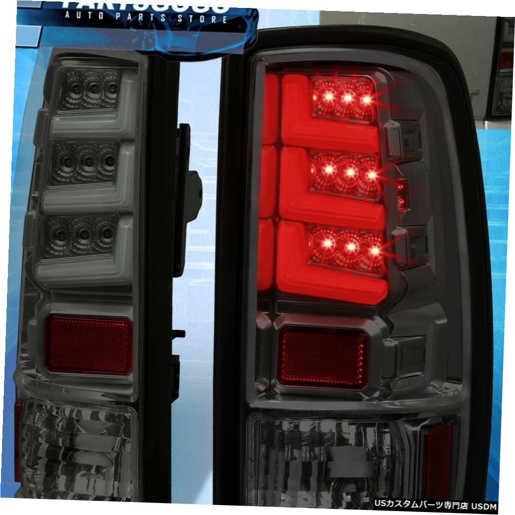 テールライト 00-06ユーコンタホ郊外の交換用LEDテールライトブレーキランプスモーク For 00-06 Yukon Tahoe Suburban Replacement LED Tail Lights Brake Lamps Smoked