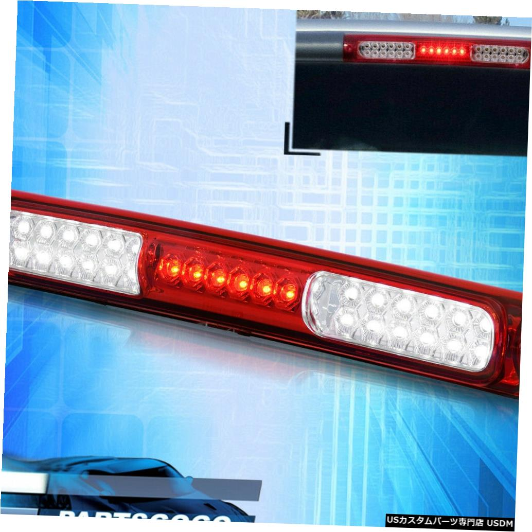 テールライト 97-03 Ford F150 F250 Heritage 3rd Brake Red Clear LED Cargo Stop Light Lamp For 97-03 Ford F150 F250 Heritage 3rd Brake Red Clear LED Cargo Stop Light Lamp