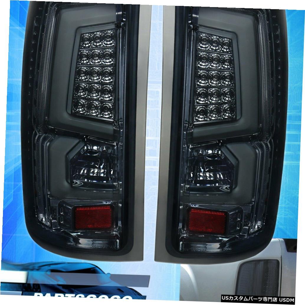 テールライト 07-13 Gmc Sierra 1500 C-Streak New Generation Led Tube Bar Tail Lights Smoke用 For 07-13 Gmc Sierra 1500 C-Streak New Generation Led Tube Bar Tail Lights Smoke