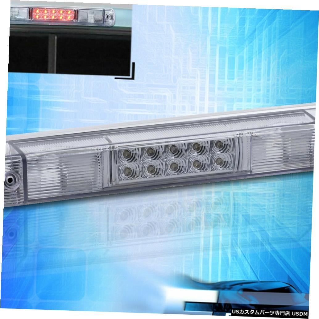 テールライト 88-98シボレー/ GMC C / K 1500 2500 3500 LEDクロームサードブレーキライトテールランプ用 For 88-98 Chevy/GMC C/K 1500 2500 3500 LED Chrome Third Brake Light Tail Lamp