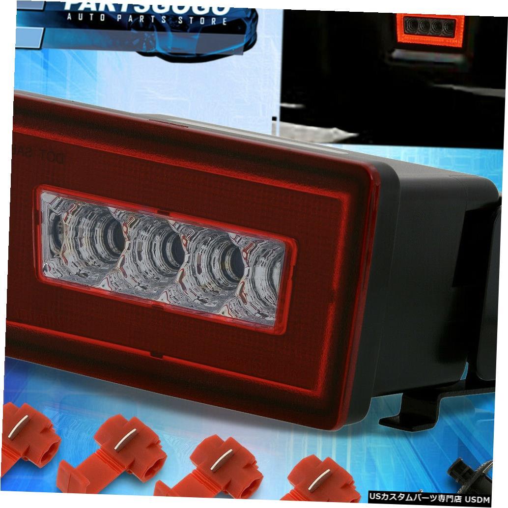 テールライト 11-19スバルWRX STI Crosstrek XV LEDレッドレンズブレーキバックアップリアフォグランプ用 For 11-19 Subaru WRX STI Crosstrek XV LED Red Lens Brake Backup Rear Fog Lights