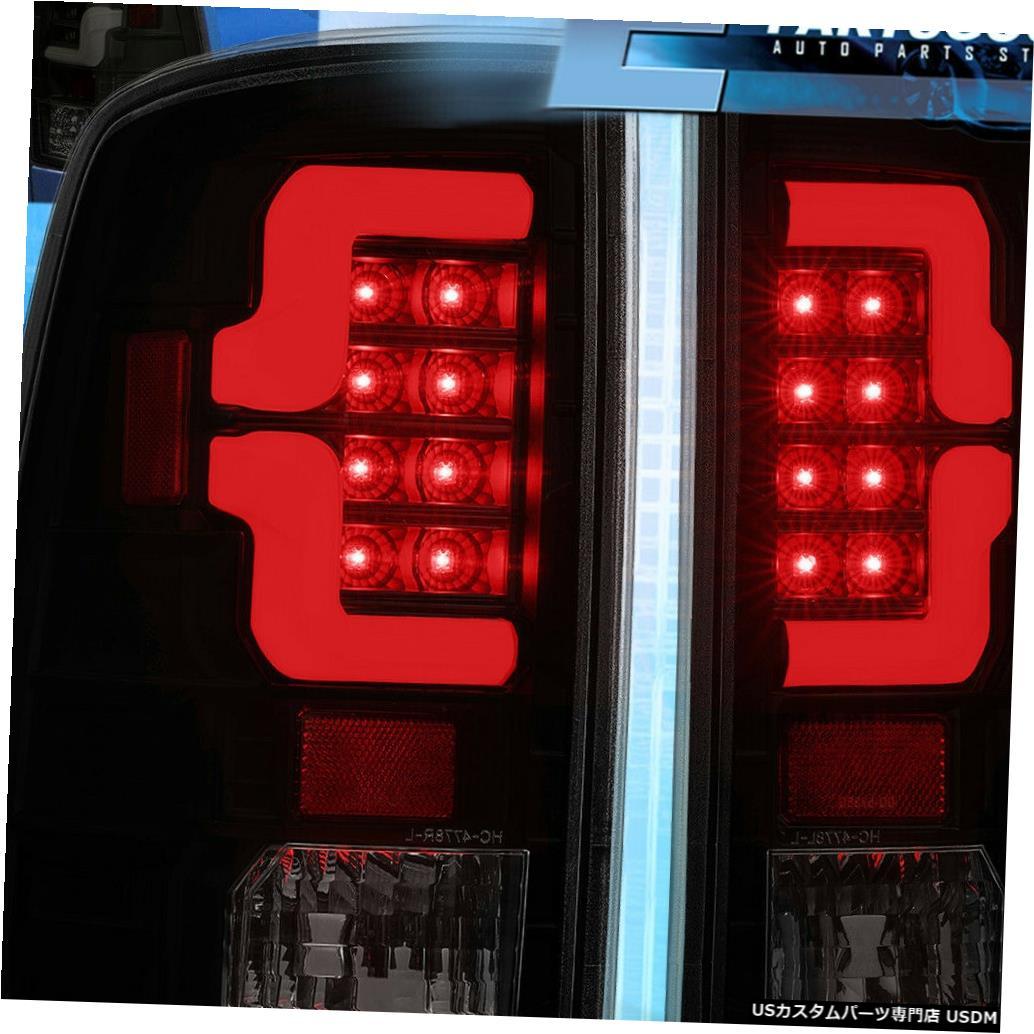 テールライト 2009-2018ダッジラム1500 2500 3500煙レンズLedテールライトブレーキランプ For 2009-2018 Dodge Ram 1500 2500 3500 Smoke Lens Led Tail Light Brake Lamps